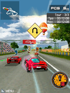 GT: Evolution HD von Gameloft Symbian Game alle Versionen) s60v3