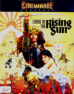 Lords of the Rising Sun von Cinemaware für Amiga