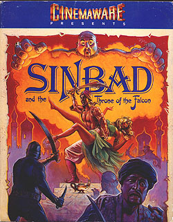 Sinbad and the Throne of the Falcon von Cinemaware